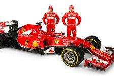 Formel 1 - Bilder: Pr�sentation Ferrari F14 T