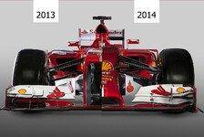 Formel 1 - Bilderserie: Technik - Ferrari F14 T