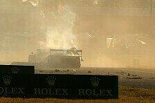 USCC - Matteo Malucelli zur�ck in Italien: Nach Daytona-Unfall: Gidley neuerlich operiert