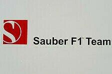 Formel 1 - Logo auf der Motorabdeckung: Pacific Ventures Premium Partner von Sauber