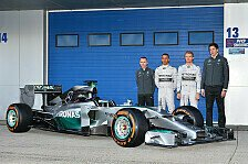 Formel 1 - Bilder: Pr�sentation Mercedes F1 W05