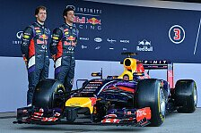 Formel 1 - Pr�sentation Red Bull RB10