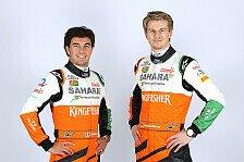 Formel 1 - Bilder: Force India - Fahrer
