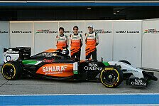 Formel 1 - Bilder: Pr�sentation Force India VJM07