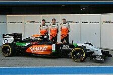 Formel 1 - Bilder: Pr�sentation Force India VJM07