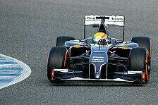 Formel 1 - Gutierrez steuert Boliden bei Premiere: Erste Testrunden des Sauber C33