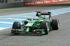 Formel 1 - Zum Erfolg verdammt: Mit Versp�tung: Caterham pr�sentiert den CT05