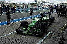 Formel 1 - Bilder: Pr�sentation Caterham CT05