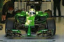 Formel 1 - Noch nicht die definitive Antwort: Caterham: CT05 soll weiter vorne k�mpfen
