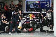 Formel 1 - Schuhe f�r alle!: Red Bull atmet auf: Geox bleibt Partner