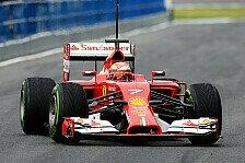 Formel 1 - Solider Startpunkt: Ferrari: Domenicalis zufriedenes Testfazit