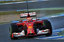 Formel 1 - Flei�iger Eismann: Ferrari: R�ikk�nen h�lt dem Druck stand