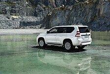 Auto - Verj�ngungskur f�r die Allradlegende: Neuer Toyota Land Cruiser ab sofort bestellbar