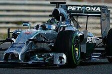Formel 1 - Von der Hauptrolle zum Nebendarsteller: Die neuen Reifen: 2014 nur noch Nebensache