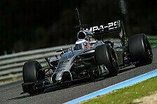 Formel 1 - Button mit Bestzeit am Mittwoch: Jerez - Tag 2 im Live-Ticker