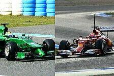 Formel 1 - Power Units & lange Nasen: Technisches Reglement - Die �nderungen 2014