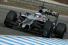 Formel 1 - Bilder: Jerez - Mittwoch