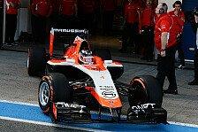 Formel 1 - Sprung nach vorne dank Ferrari-Power?: Marussia: B�hne frei f�r den MR03