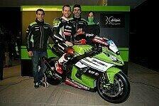 Superbike - Kawasaki-Launch in Barcelona: Sykes bl�st zur Titelverteidigung