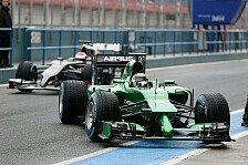 Formel 1 - Keine Sorge wegen Renault-�rger: Kobayashi: Caterham-Deb�t mit Pinocchio