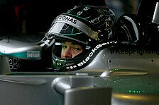 Formel 1 - Video: Rosberg zeigt neues Helmdesign