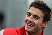 Formel 1 - Mit Deb�t zufrieden: Bianchi denkt schon an die ersten Punkte