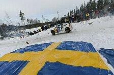 WRC - Warm ums Herz trotz eisiger K�lte: Volkswagen peilt zweiten Sieg in Schweden an