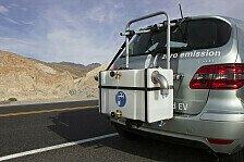 Auto - Kruger und Jackson testen Brennstoffzelle: Ab in die W�ste: B-Klasse F-CELL als Wasserspender