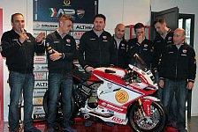 Superbike - Canepa auf einer Panigale in der EVO-Klasse: Althea Racing pr�sentiert Team f�r 2014