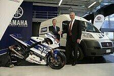 MotoGP - Neues Logo auf den M1 von Lorenzo und Rossi: Fiat offizieller Sponsor bei Yamaha