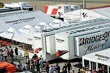 MotoGP - Es wird Neuerungen geben: Bridgestone wird bis zum Aus entwickeln
