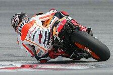 MotoGP - Wadenbeinbruch im Training: Marquez in Sepang II raus