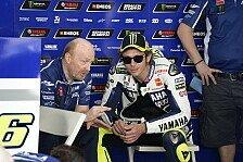MotoGP - Er ist nie zufrieden: Rossi zufrieden mit neuem Crew Chief Galbusera