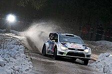 WRC - VW mit Doppelspitze: Mikkelsen f�hrt in Schweden