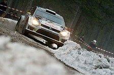 WRC - Favoritensterben auf der SS8: Ogier crasht in F�hrung liegend