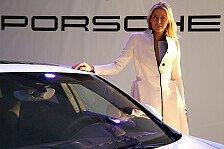 Auto - Maria Sharapova und der Porsche Panamera