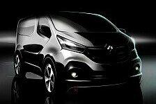 Auto - Erfolgstransporter mit Renault Markengesicht: Renault gibt Ausblick auf dritte Trafic Generation