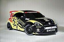 Rallye - Weltpremiere des RallyCross-Beetle in Chicago