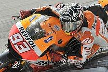MotoGP - Der Druck kommt an der Strecke: Marquez �ber den Test-Auftakt