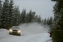 WRC - Video: Latvala streift einen Zaun