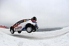 WRC - Schon �ber 24 Minuten R�ckstand: Kubica k�mpft gegen den Schnee