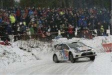 WRC - Kubica schlittert in Schwierigkeiten: Schweden: Latvala f�hrt, Mikkelsen greift an