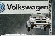 WRC - Video: Volkswagen triumphiert in Schweden