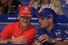 Formel 1 - Wir glauben an deine Genesung: Jean Alesi denkt jeden Tag an Schumacher