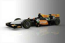 GP2 - Force-India-Look: Abt zeigt seinen neuen Renner