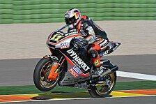 Moto2 - L�thi f�hrt drittschnellste Zeit: Rookie Vinales beendet Test an der Spitze