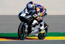 Moto3 - KTM belegt Top-6: Miller weiter voran