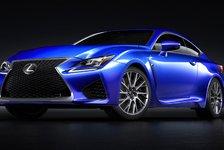 Auto - Leistungsstarkes Lexus V8 Triebwerk: Lexus RC F vor Europapremiere
