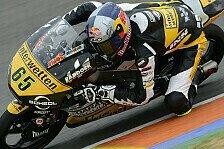 Moto3 - Nur eine Sekunde hinter dem Schnellsten: �ttl mit starkem letzten Testtag