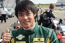 Formel 3 Cup - Ein Naturtalent: Van Amersfoort verpflichtet Weiron Tan